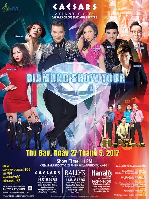 Diamond show tour