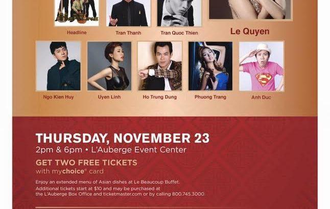 Asian Concert 23 Tháng 11 Năm 2017